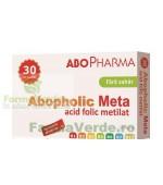 ABOPHOLIC META-acid folic metilat 400cg Fara Zahar 30 tablete Abo Pharma