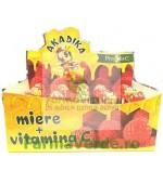 Akadika Propolis C pentru Juniori cu Miere si Vitamina C Acadele Copii 1 bucata Fiterman Pharma