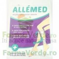Allemed Plasturi Hidrogel Picioare Obosite 2 bucati Fiterman Pharma