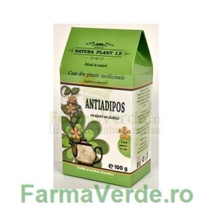 Ceai Antiadipos cura de slabire 100gr Natura Plant IF