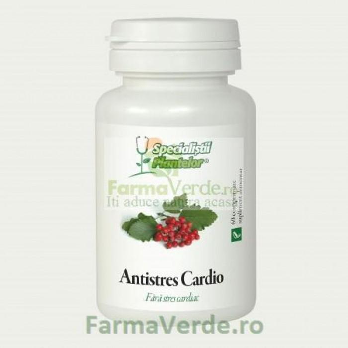 Antistres Cardio 60 comprimate Specilaistii Plantelor DaciaPlant