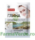Argila cosmetica alba din Altay cu efect hidratant 75 gr FM17 Cosmetica Verde