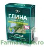 Argila cosmetica albastra Cambriana cu efect purifiant 100 gr FM7 Cosmetica Verde