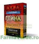 Argila cosmetica albastra de Tibet cu efect revitalizant 100 gr FM9 Cosmetica Verde