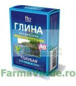 Argila cosmetica albastra de Valday cu efect rejuvenant 100 gr FM6 Cosmetica Verde