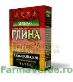 Argila cosmetica verde de Tian Shan cu efect purifiant 100 gr FM10 Cosmetica Verde
