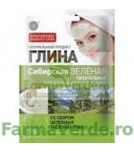 Argila cosmetica verde din Siberia cu efect hutritiv 75 gr FM18 Cosmetica Verde
