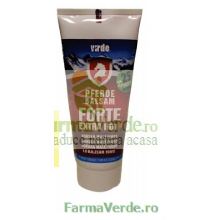 Balsam de Cal Forte HOT cu Efect de Incalzire 200 ml Magnacum