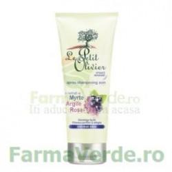 Balsam pentru par gras cu extract de mirt si argila roz FPO48 Le Petit Olivier Cosmetica Verde