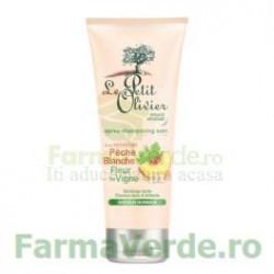 Balsam pentru par normal cu extracte de piersica si flori de vita de vie FPO45 Le Petit Olivier