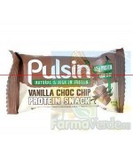 Baton proteic cu vanilie si cipsuri de ciocolata 50 gr Pulsin Activ Pharma Star