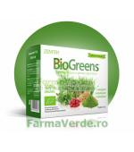 BioGreens SuperFood Vegan cu lastari,alge si germeni 100 gr Zenyth Pharmaceuticals