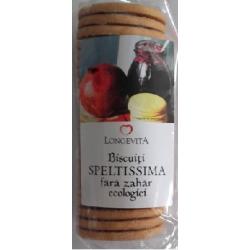 Biscuiti Speltissima Fara Zahar Ecologici 200 gr Longevita Solaris