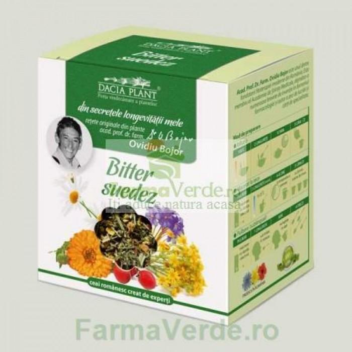 Ceai Bitter Suedez Plante Medicinale 50 g DaciaPlant