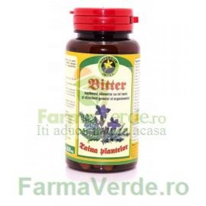 Bitter Taina Plantelor 60 Capsule Hypericum Impex Plant
