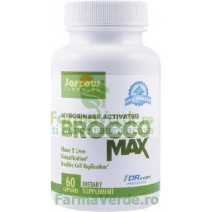 BROCCOMAX Seminte de Broccoli 385mg 60 capsule Jarrow Secom