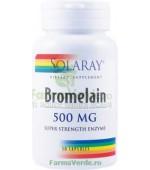 BROMELAIN 500 mg (Enzime ananas) Digestie Usoara 30 capsule Secom