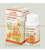 C Natural Vitamine si Minerale 60 comprimate DaciaPlant