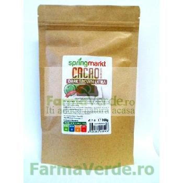 Cacao alcalinizata 100 gr Adams Vision Springmarkt