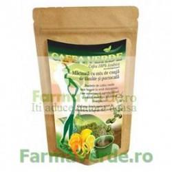 Cafea Verde Pudra Portocale si Lamaie Green Coffee 250 gr Crisnatura