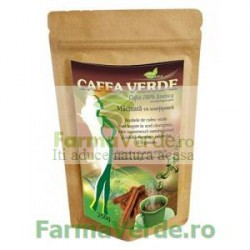 Cafea Verde Macinata cu Scortisoara Green Cofee 250 gr Crisnatura