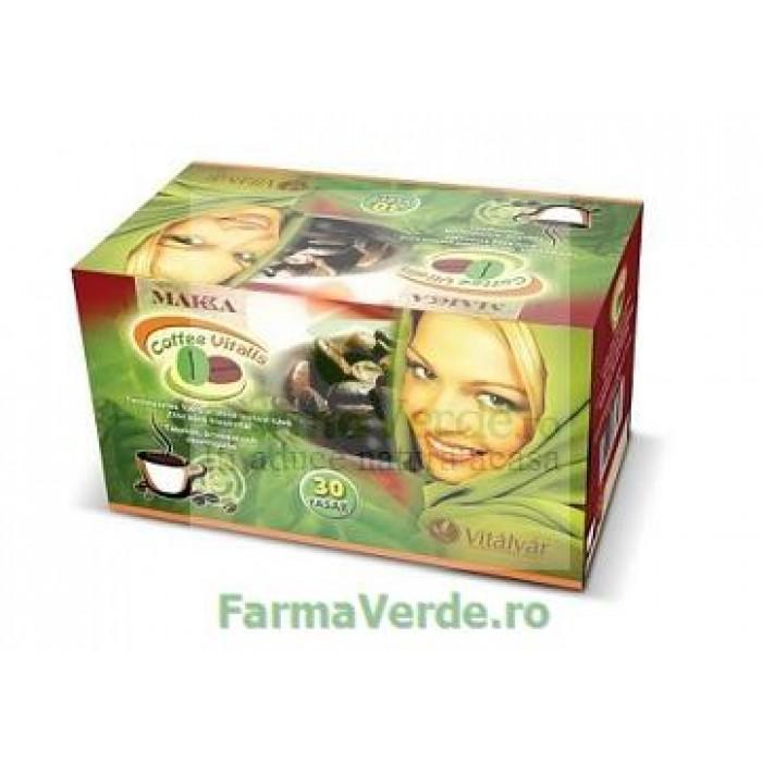 Cafea Verde Vitalis Instant 30 plicuri Spring BIO Life