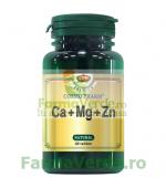 CA + MG + ZN Calciu+Magneziu+Zinc 30 tablete CosmoPharm Premium