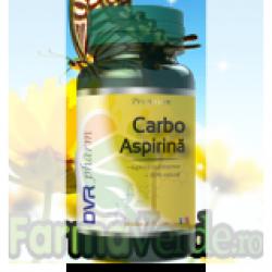 Carbo Aspirina Impotriva Durerii ! 60 capsule Dvr Pharm