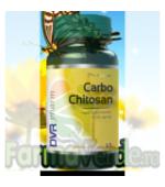 Carbo Chitosan 60 capsule + 30 capsule GRATIS! PROMOTIE! Dvr Pharm