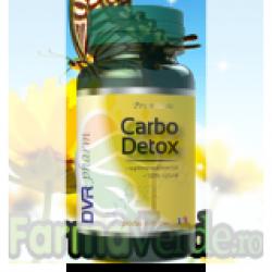Carbo Detox Carbune Medicinal 60 capsule Dvr Pharm