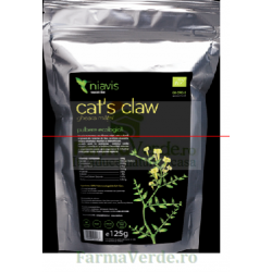 Cat's Claw Gheara Matei Pulbere Ecologica/Bio 125 gr Niavis
