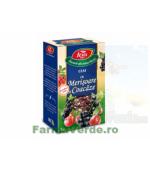 Ceai cu merisoare și coacaze 75 gr Fares Orastie