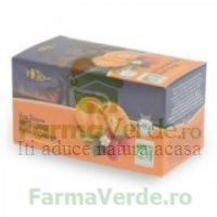 Ceai Fructe Valdena Capsune & Portocale ECO 20 plicuri MDS
