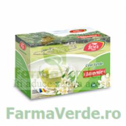 Ceai verde cu iasomie 20 plicuri Fares Orastie