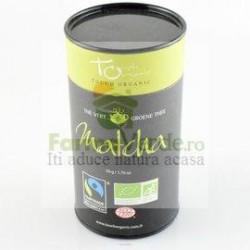 "Ceai Verde MATCHA ECO ""TOUCH ORGANIC"" 100 gr Cutie MDS"