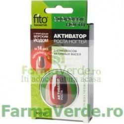 Ceara fortifianta pentru stimularea cresterii unghiilor FO2 Fito Energia Cosmetica Verde