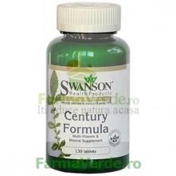 Multivitamina cu Minerale Century 130 comprimate Swanson