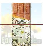 Ciocolata organica cu lucuma si cacao BIO 60 gr Rawr Activ Pharma Star