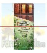 Ciocolata organica cu gust de menta BIO 60 gr Rawr Activ Pharma Star