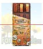 Ciocolata organica cu gust de portocale BIO 60 gr Rawr Activ Pharma Star