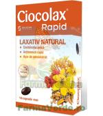 Ciocolax Rapid Constipatie 10 capsule Solacium Pharma