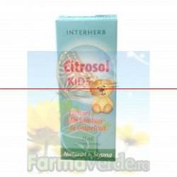 Citrosol Citrosept kids copii cu seminte de grapefruit 15 ml Casaherba Interherb