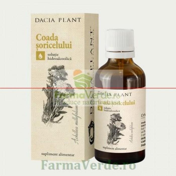 Tinctura de Coada Soricelului 50 ml DaciaPlant