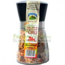 Condiment Rasnita Sare Roz de Himalaya si Chili 180gr PIRIFAN