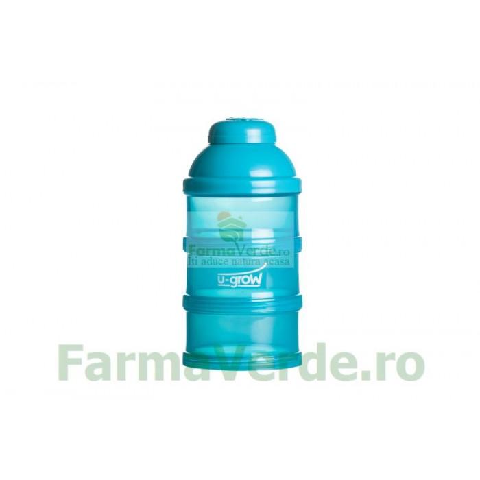 Container lapte praf A-1016 3 compartimente U-Grow