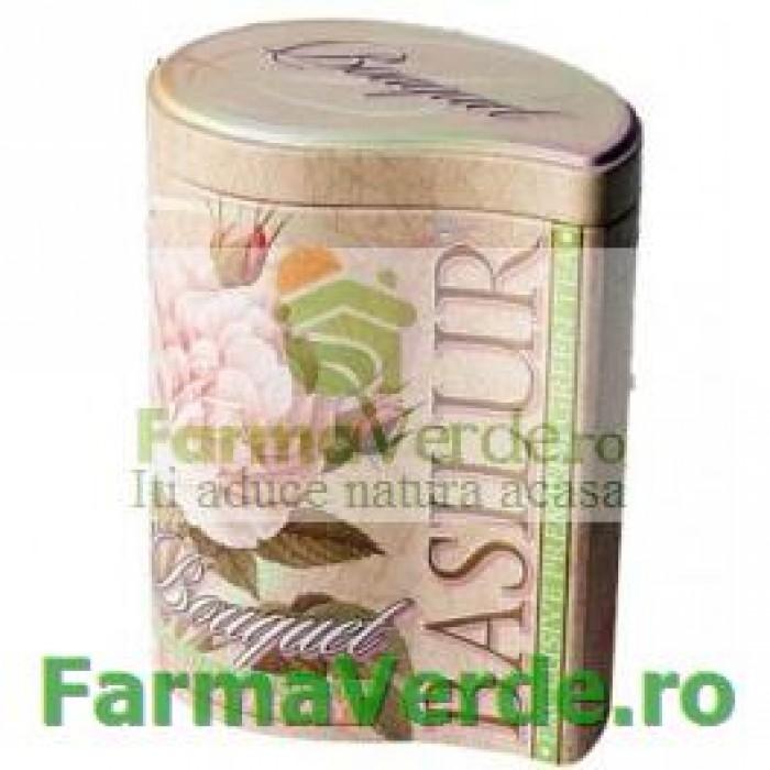Ceai Bouquet Cream Fantasy 100 gr Cutie Metalica Basilur Tea