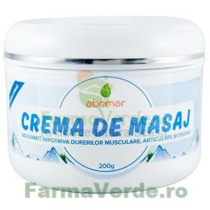 Crema pentru masaj dureri musculare, articulare si osoase, grame, Abemar Med