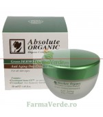 Crema Anti Aging de Zi cu Leontopod Stems GXTM 50ml Absolute Organic Adams Vision