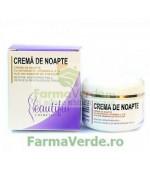 Crema de Noapte cu Antioxivita,Vitamina A,E si Ulei din Samburi de Struguri 50 ml Phenalex