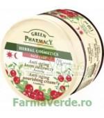 Crema faciala anti-aging nutritiva cu extract de merisoare EP66 Green Pharmacy Cosmetica Verde